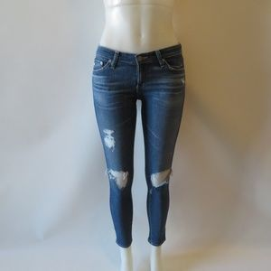 """ADRIANO GOLDSCHMIED """"THE LEGGING"""" ANKLE JEANS 25*"""